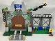 Part No: spa0008  Name: Jurassic World Gate - Set 10758
