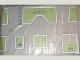 Part No: tplan03  Name: Town Plan Board, Plastic Large Soft (72cm x 120cm) - Set 1200