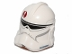 Part No: 11217pb10  Name: Minifigure, Headgear Helmet SW Clone Trooper with Dark Red Emblem Pattern