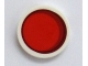 Part No: 14769pb113  Name: Tile, Round 2 x 2 with Bottom Stud Holder with Red Circle Stylized Red Sun Pattern
