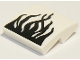 Part No: 15068pb269  Name: Slope, Curved 2 x 2 with Black Flames on White Background Pattern