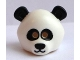 Part No: 15506pb01  Name: Minifigure, Headgear Mask Bear / Panda with Black Eyes and Ears Pattern