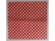 Part No: 16280  Name: Cloth Picnic Tablecloth / Blanket with Red Checkered Pattern