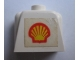 Part No: 17pb03  Name: Torso Legoland with Shell Logo Pattern Sticker