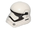 Part No: 20904pb02  Name: Minifigure, Headgear Helmet SW Stormtrooper Ep. 7 Rounded Mouth Pattern