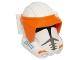 Part No: 22312pb01  Name: Large Figure Head Modified SW with Ball Joint Socket Phase 3 Clone with Visor Pattern (Commander Cody)