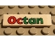 Part No: 2431pb020  Name: Tile 1 x 4 with Octan Pattern (Sticker) - Sets 6397 / 6472 / 6663