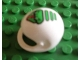 Part No: 2715pb01  Name: Technic, Figure Accessory Helmet with Green Viper Pattern - Set 8255