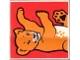 Part No: 2756pb085  Name: Duplo Tile 2 x 2 x 1 with Lion Mosaic Picture 13 Pattern (Set 1019)