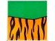 Part No: 2756pb182  Name: Duplo Tile 2 x 2 x 1 with Tiger Mosaic Picture 02 Pattern (Set 1079)
