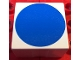 Part No: 2756pb387  Name: Duplo Tile 2 x 2 x 1 with Shape Blue Disc Pattern