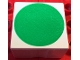 Part No: 2756pb395  Name: Duplo Tile 2 x 2 x 1 with Shape Green Disc Pattern