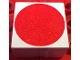 Part No: 2756pb403  Name: Duplo Tile 2 x 2 x 1 with Shape Red Disc Pattern