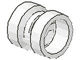 Part No: 30027u  Name: Wheel  8mm D. x 9mm (for Slicks) - (Undetermined Hole Type)