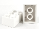 Lot ID: 251687751  Part No: 3002old  Name: Brick 2 x 3 without Cross Supports