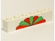 Part No: 3009pb012  Name: Brick 1 x 6 with Red and Green Petals Pattern
