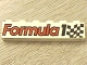 Part No: 3009pb045  Name: Brick 1 x 6 with 'Formula 1' and Checkered Flag Pattern