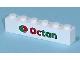 Part No: 3009pb120  Name: Brick 1 x 6 with Octan Logo Pattern (Sticker) - Set 7641