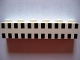 Part No: 3009px21  Name: Brick 1 x 6 with Ferry Squares Black in 2 Lines Pattern