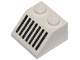 Part No: 3039p05  Name: Slope 45 2 x 2 with Black Grille with 7 Lines Pattern