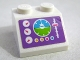 Part No: 3039pb111  Name: Slope 45 2 x 2 with Airplane Gauges and Controls Pattern (Sticker) - Set 41109
