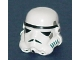 Part No: 30408p01  Name: Minifigure, Headgear Helmet SW Stormtrooper Pattern