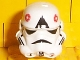 Part No: 30408px3  Name: Minifigure, Headgear Helmet SW Stormtrooper, AT-AT Driver Pattern