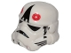 Part No: 30408px3b  Name: Minifigure, Headgear Helmet SW Stormtrooper, AT-AT Driver with Large Black Triangle Pattern