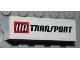 Part No: 30413pb026  Name: Panel 1 x 4 x 1 with 'HA TRANSPORT' Pattern (Sticker) - Set 4645
