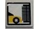 Part No: 3068bpb0209  Name: Tile 2 x 2 with Groove with Car Wash Brush Pattern (Sticker) - Set 7993
