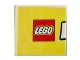 Part No: 3068bpb0409  Name: Tile 2 x 2 with Groove with LEGO World Pattern Medium Left