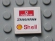 Part No: 3068bpb0810  Name: Tile 2 x 2 with Groove with Vodafone (Wide), Bridgestone and Shell Logos Pattern (Sticker) - Set 8654