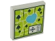 Part No: 3068bpb1135  Name: Tile 2 x 2 with Groove with Map Heartlake Park Pattern
