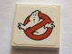 Part No: 3068bpb1170  Name: Tile 2 x 2 with Groove with Ghostbusters Logo Pattern (Sticker) - Set 75827