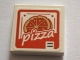 Part No: 3068bpb1171  Name: Tile 2 x 2 with Groove with White 'pizza' Pattern (Sticker) Set 75827