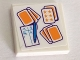 Part No: 3068bpb1295  Name: Tile 2 x 2 with Groove with Playing Cards, Pen and Scorecard Pattern (Sticker) - Set 41335