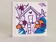 Part No: 3068bpb1298  Name: Tile 2 x 2 with Groove with Tree House and Ladder Pattern (Sticker) - Set 41335