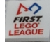 Part No: 3068bpb1329  Name: Tile 2 x 2 with Groove with 'FIRST LEGO LEAGUE' Pattern