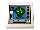 Part No: 3068bpb1479  Name: Tile 2 x 2 with Groove with Computer Monitor with Green Island Display Pattern (Sticker) - Set 75936