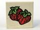 Part No: 3068pb25  Name: Tile 2 x 2 with Fabuland Strawberry Pattern