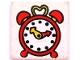 Part No: 3068pb36  Name: Tile 2 x 2 with Fabuland Alarm Clock Pattern