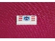 Part No: 3069bpb0045  Name: Tile 1 x 2 with Groove with Coast Guard Pattern (Sticker) - Set 6353