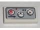 Part No: 3069bpb0112  Name: Tile 1 x 2 with Groove with Three Avionics Gauges Pattern (Sticker) - Set 5981
