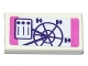 Part No: 3069bpb0546  Name: Tile 1 x 2 with Groove with Ferris Wheel Pamphlet Pattern (Sticker) - Set 41130