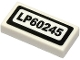 Part No: 3069bpb0781  Name: Tile 1 x 2 with Groove with 'LP60245' Pattern (Sticker) - Set 60245