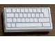 Part No: 3069bpb0856  Name: Tile 1 x 2 with Groove with Computer Keyboard Blank Keys Pattern