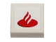 Part No: 3070bpb088  Name: Tile 1 x 1 with Groove with Santander Logo Pattern (Sticker) - Set 40190