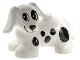 Part No: 31101pb01  Name: Duplo Dog Dachshund with Black Spots Pattern (Spot)
