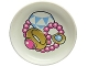 Part No: 31333pb04  Name: Duplo Utensil Dish with Jewelry Pattern