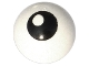 Part No: 32474pb002  Name: Technic, Ball Joint with Black Eye with Pupil Pattern